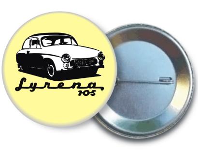 Syrena 105 standard - pins zawieszka button
