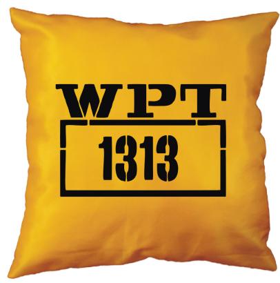 WPT 1313 - poduszka żółto-czarna dla taksówkarza ;o)