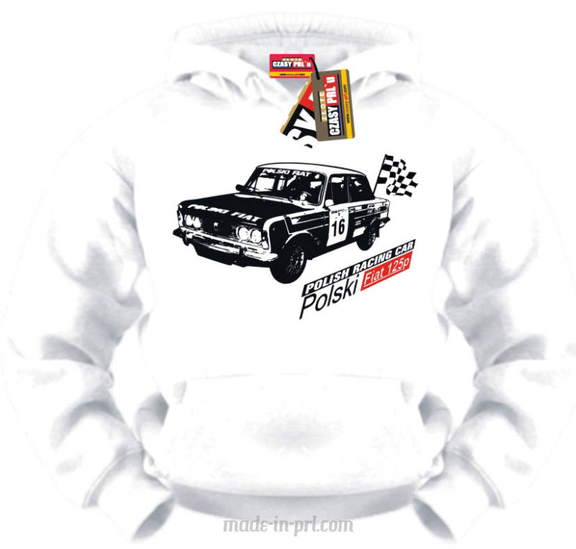 Polish Racing Car Fiat 125p - bluza