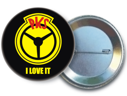 PKS I love it - pins zawieszka button