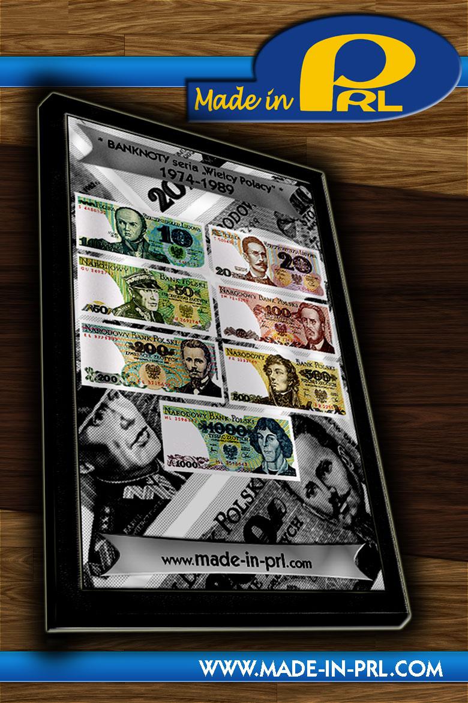 1974-1989 zestaw banknotów KOLEKCJA z PRL `u UNC 10zł 20 zł 50zł 100zł 200zł 500zł 1000zł POLSKIE PIENIĄDZE BANKNOTY